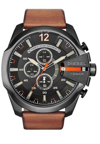 Diesel brown Diesel Chief Series Chronograph Watch DI095AC0K94CPH_1