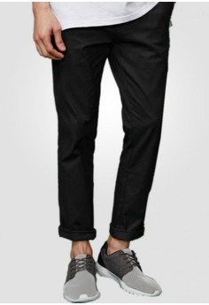 Basic In Color Stretch Pants