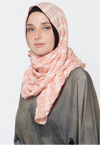 Aira Muslim Butik orange Isabel Pashmina AI892AA46KORID_1