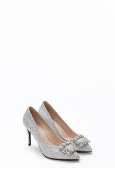 291761906ba8 PAZZION Sparkly Embellished Front Heels RM 309.00. Available in several  sizes