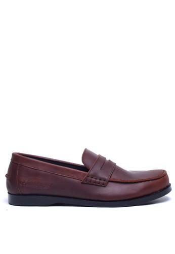 Toods Footwear brown Humblepaps Penny - Brown TO932SH86EAFID_1