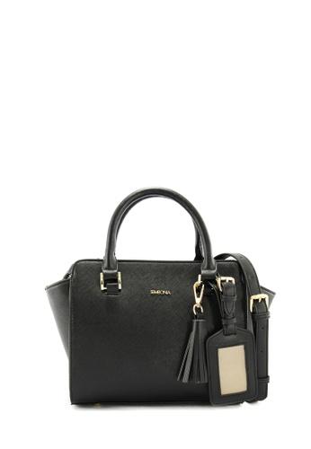 SEMBONIA black SEMBONIA Synthetic Leather Tote Bag SE598AC0RVVOMY_1