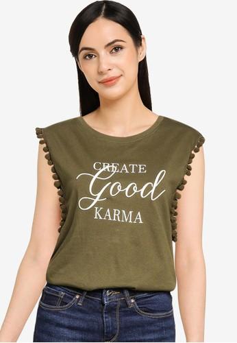 Springfield green Create Good Karma Top CF96CAA79B86DBGS_1
