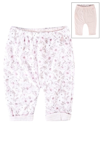 GAP pink Reversible Printed Pants 507DFKA997D6DEGS_1