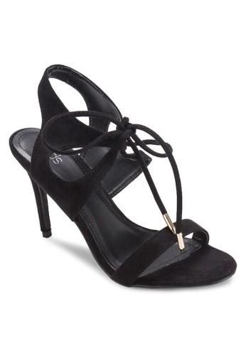 Gritty 鏤空繞踝高跟鞋, 女鞋, esprit 折扣鞋