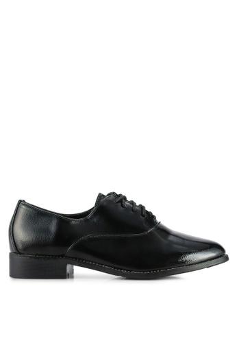 Noveni black Casual Oxford Shoes NO978SH0RJEWMY_1