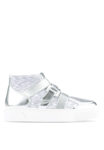 House of Avenues grey and silver Casual Sneakers HO685SH0RRBCMY_1