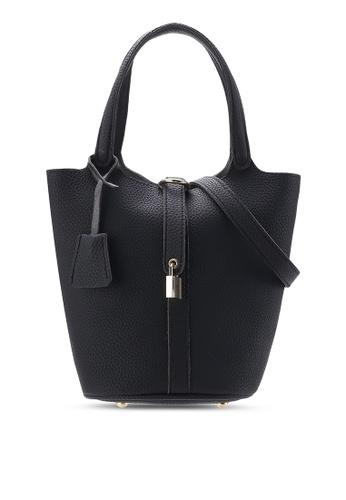 Sunnydaysweety black 2018 New Black Bucket Bag A0225BK 30F19ACDCEB477GS_1