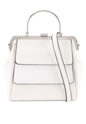 Keddo white Rosalia Sling Bag 93867AC2E0584DGS_1