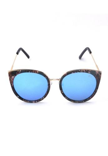 2i's to eyes green Sunglasses Polarized│Vintage Green Big Frame│UV400 Protection│2is ZoeG B79FDGL7B46130GS_1