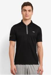 2GO black GO Dry Polo Shirt 2G729AA0S5YOMY_1