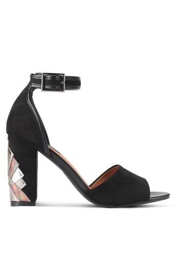 ZALORA black Heel Cut Out High Heels 7C2D7SH6804E3AGS_1