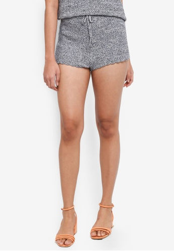 Something Borrowed blue Knitted Summer Shorts 48783AAE79240DGS_1