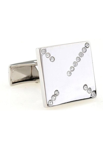 The Little Link Cufflinks silver Crossroads cufflinks TH089AC0G2ZMSG_1