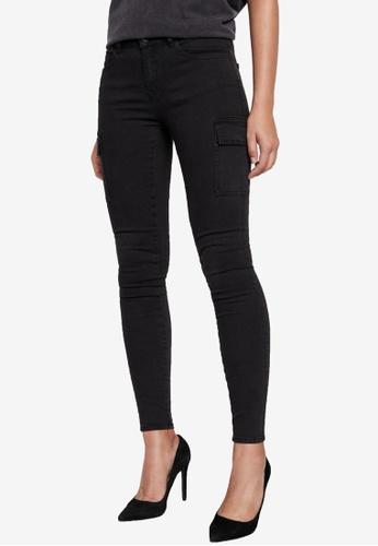 Noisy May black Lucy Utility Pants 2F071AA94385E2GS_1