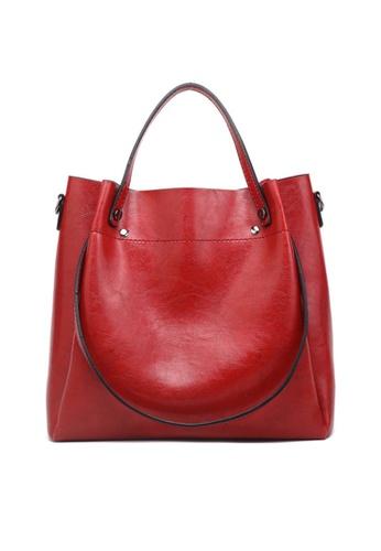 Twenty Eight Shoes red VANSA Simple Design Hand Bag   VBW-Hb028 5CADFACEF822A3GS_1