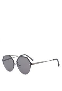 ace58890cda ALDO black Jeradoniel Aviator Sunglasses 46312GL2A280FAGS 1