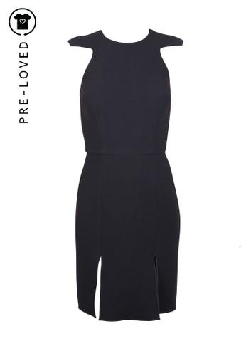 Yeojin Bae black Pre-Loved yeojin bae Cut Out Back Mini Dress B28F2AAA954A6DGS_1
