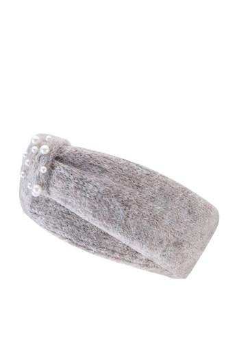 Pieces beige Romina Wool Headband 15A84AC29BAB92GS_1