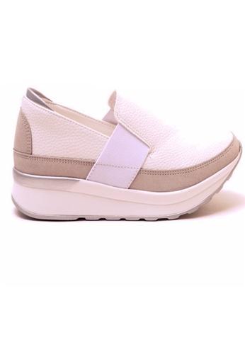 Crystal Korea Fashion white Korean New Versatile Platform Shoes 52634SHFA65E7CGS_1