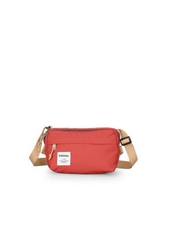 Hellolulu red Hellolulu Hollis Mini Bag (Pomegranate) AA402AC8D61778GS_1
