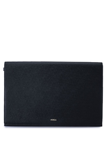 Furla black Babylon XL Ipad Clutch 59005ACB78E39BGS_1