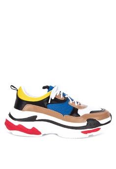 bc6c576e6f Sofab! multi Emilia Chunky Multi-colored Sneakers 36942SHFF95271GS_1