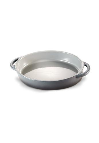 Slique grey Premium Stoneware Oval Baking Dish 900ml 1A741HL3F3DE82GS_1