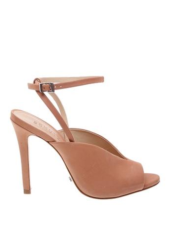 SCHUTZ 米褐色 SCHUTZ 搭帶高跟涼鞋 - HAILEY (皮膚色) B4785SH6C4E062GS_1
