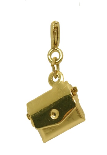 My Flash Trash gold Purse charm 0613CAC1B6B4B7GS_1