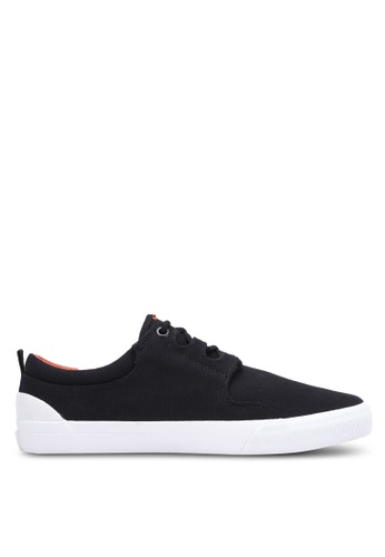 Superdry black Mono Deck Pro Shoes SU137SH0S4HAMY_1
