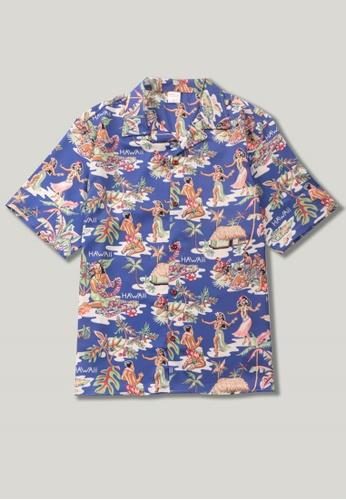 Twenty Eight Shoes Vintage Printed Aloha Shirt MD206035 BE2C0AA685FBFDGS_1