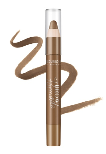 Bourjois brown Bourjois Brow Pomade 3.25g - 002 Chatain 12AAABEBEC8739GS_1