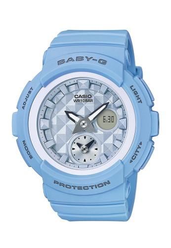 Baby-G blue Casio BABY-G Jam Tangan Wanita - Blue - Resin - BGA-190BE-2ADR 46E61AC4C88FDFGS_1