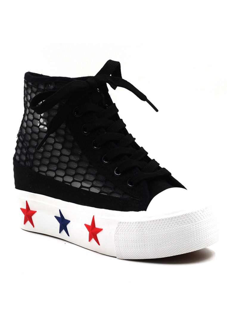 New York Sneakers Camryn Platform High Cut Shoes