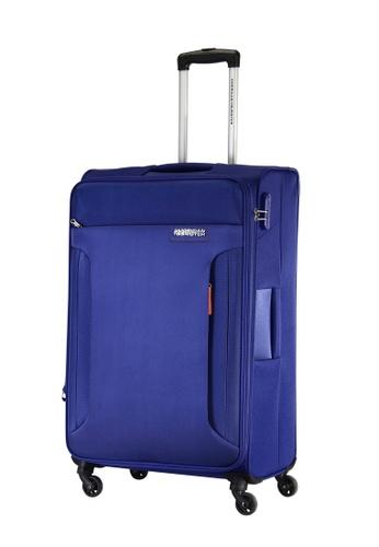 American Tourister blue American Tourister Troy Spinner 68/25 TSA AM536AC0FAI7SG_1