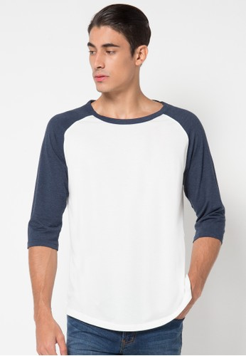 Long Sleeve Raglan White