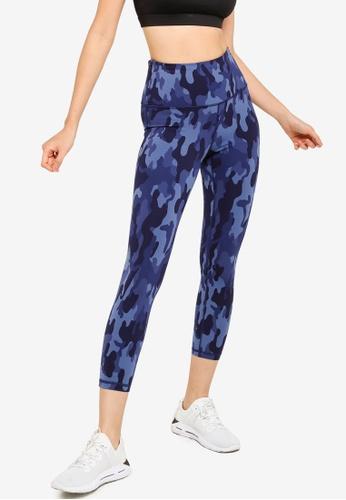 GAP blue Eclipse Sky High Zipper Pocket Leggings 8397DAAEB7DCE5GS_1