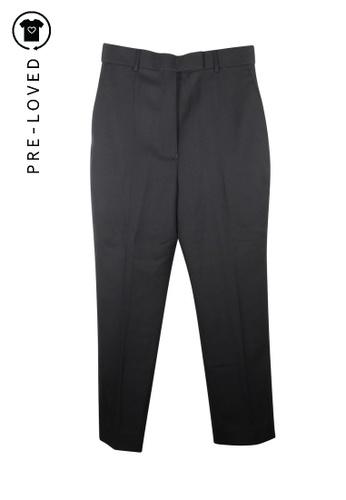 Haider Ackermann black Pre-Loved haider ackermann High Waist Cropped Pants A5113AAE7EC031GS_1