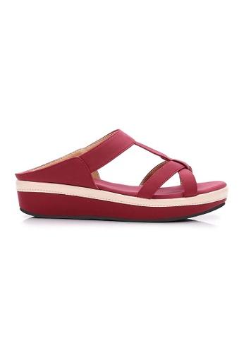 BNC red Slide Sandal E2D44SH2E1664FGS_1