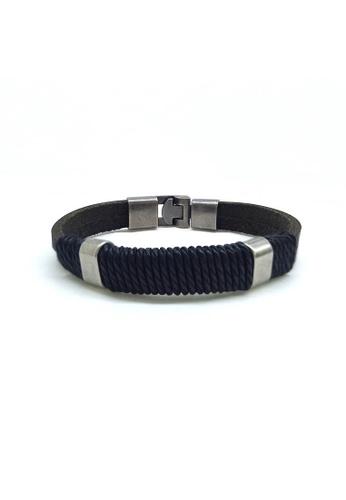 Her Jewellery black Louis Bracelet E6746AC815EE69GS_1