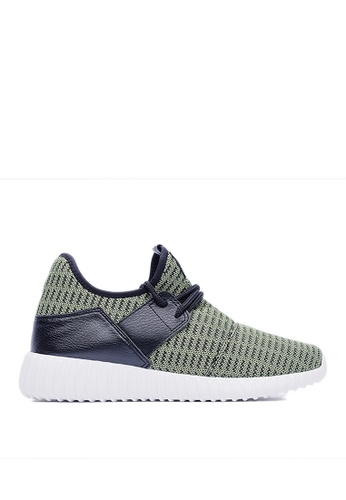 Life8 green Loom Fly Cloth Sport Shoes-09315-Green LI286SH34GFLMY_1