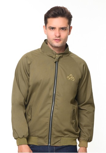 Endorse brown Endorse Jacket I Harrington Brown - END-RH004 D4A8BAA1525350GS_1