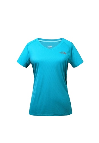 8d7789324 The North Face Women Ambition S/S Green Running T-Shirt
