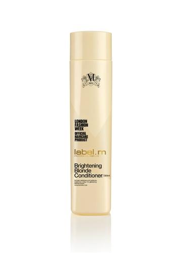 label.m beige and gold Label M Brightening Blonde Conditioner 300ml LA590BE11VOESG_1