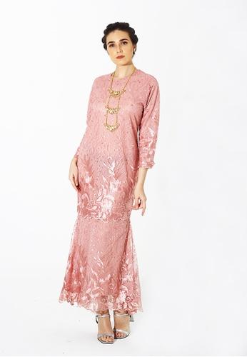 Adam.R pink Belle Dress 8963CAAEE5EC06GS_1