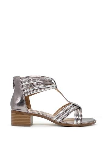 London Rag silver London Rag New Arrival Womens Heel Sandals SH1371 4CDD3SH3BDDBE0GS_1
