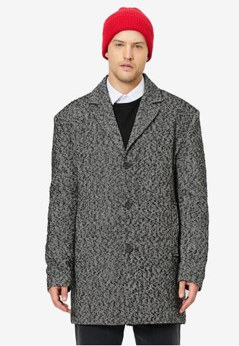 KOTON grey Casual Coat 181ECAA83F5445GS_1