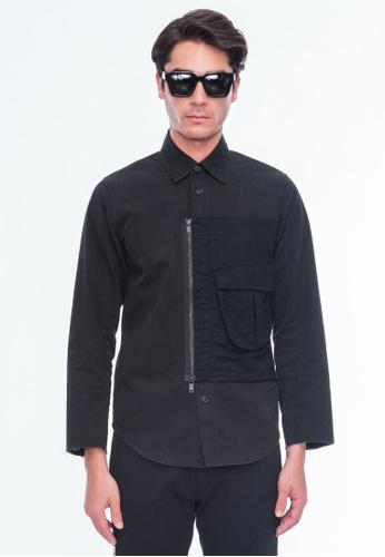 Alpha Style black Bailey Utility Shirt Jacket AL461AA0G0N8SG_1