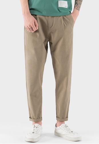 HAPPY FRIDAYS Thin Linen Casual Pants AP-J2218 3286CAA37C5B23GS_1